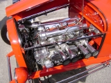 <h5>'28 Ford</h5><p>Rarely seen dual overhead cam Offenhauser engine.</p>